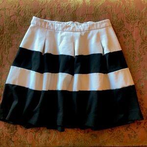 Express full pleated mini skirt